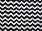 Mobile Preview: Sommersweat Chevron schwarz - offwhite