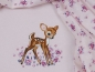 "Preview: Baumwolljersey Hilco ""Bambi"" rose - Panel a 50 cm"
