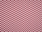 Mobile Preview: Baumwollstoff Chevron bordeaux - weiss