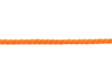 Rundkordel 8 mm orange
