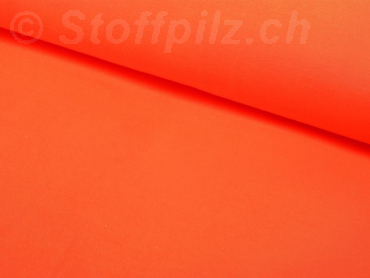 Baumwolljersey orange neon