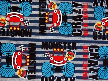 "Sweat Hilco ""Monster Machine"" grau"