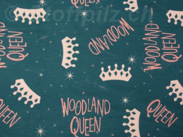 "Sweat Hilco ""Woodland Queen"" petrol"
