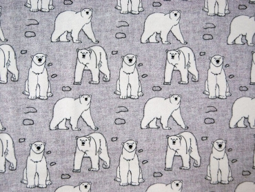 "Sweat Hilco ""Arctic Bear"" grau"