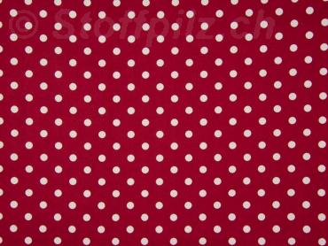Punkte,gepunktet rosa-weiß HILCO Baumwolle Stoff HILDE Tupfen