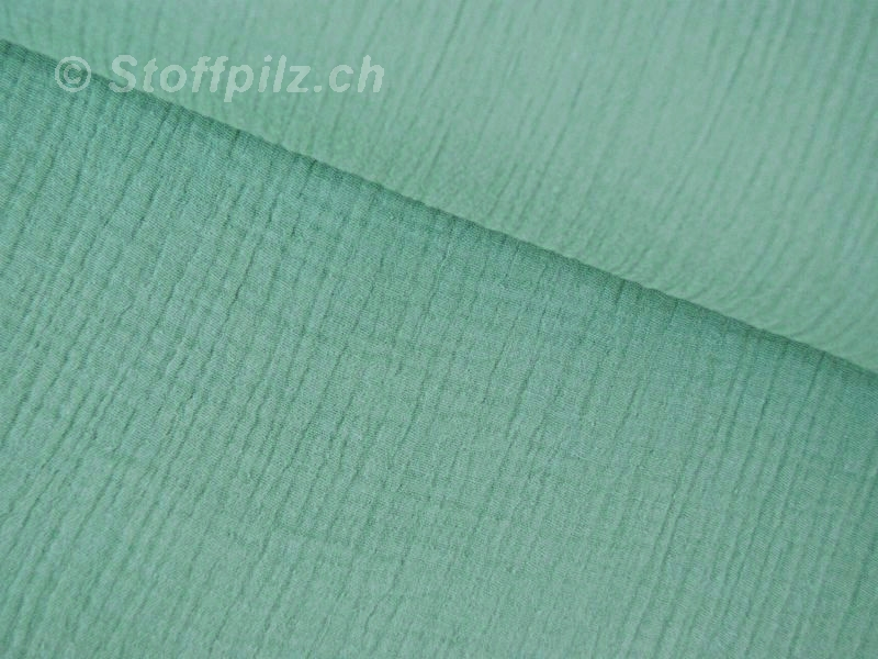 Double Gauze / Musselin dusty mint