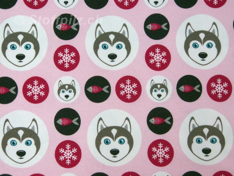"Sweat Hilco ""Husky Dots"" rosa"