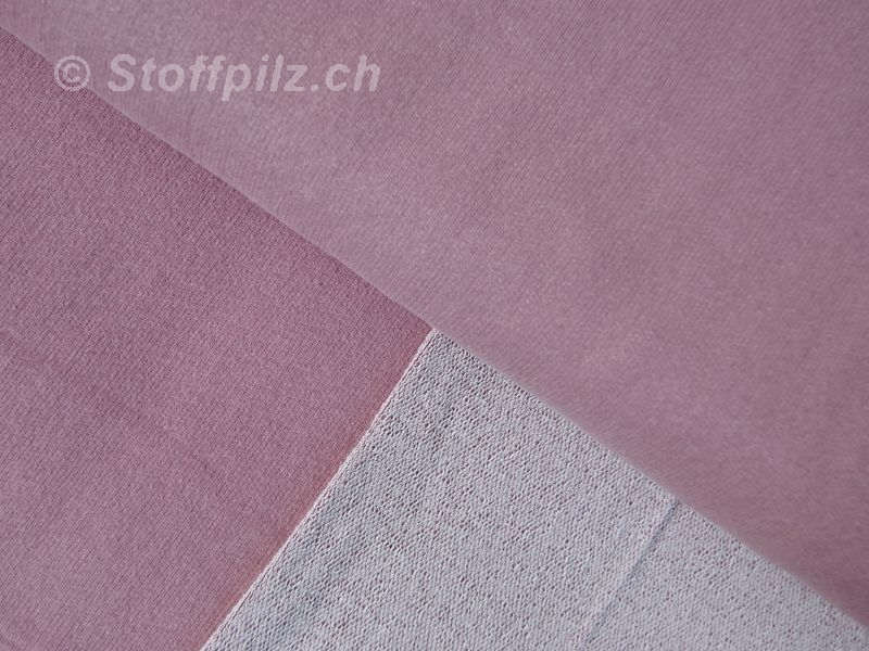 "Sommersweat Strick ""Sportiv Pastell"" altrosa"